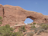 arches natural park poster