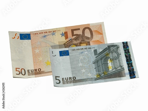 poster of fifty and five euros