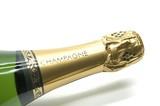 champagne bottle poster