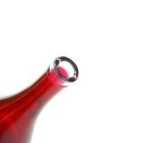 weird red bottle poster