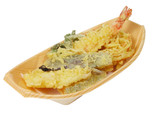 tempura -clipping path poster