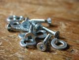 wood screws and split rings poster
