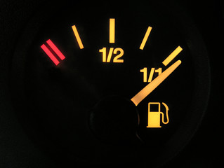 sensor of full tank of benzine