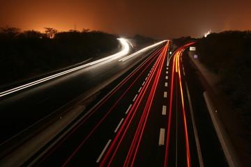 traffic nocturne
