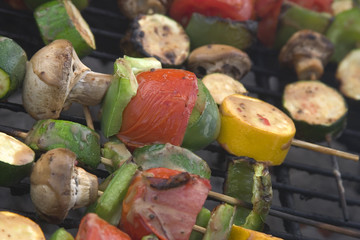 barbeque vegetables