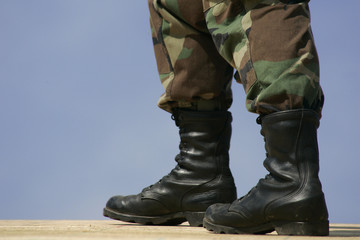 national guard boots