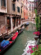 Kanał w Wenecji sceny