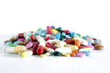 un petit tas de medicaments poster