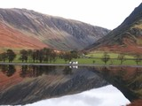 buttermere remote cottage poster