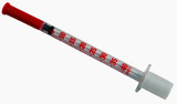 insulin syringe-clipping path poster