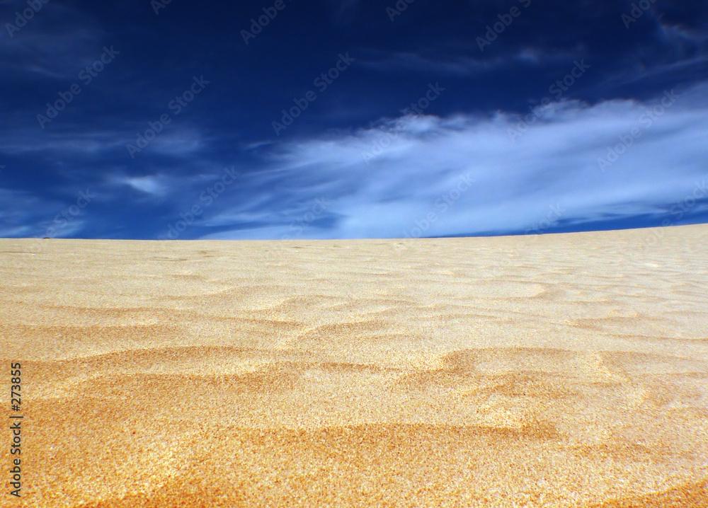 niebo piasek gorący - powiększenie