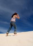 sand climbing poster