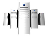 3d servers poster