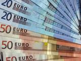 euros bleus poster
