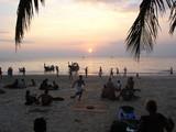 sunset thailand poster