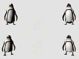 four corners penguins poster