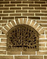 hearth door