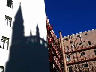 church shadow