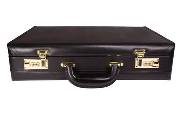 isolated briefcase