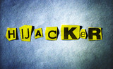 hijacker word poster