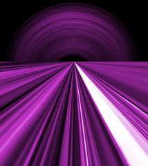 purple space lines
