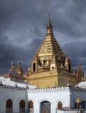 burmese temple poster