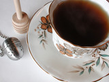 tea cup and saucer 1188 poster