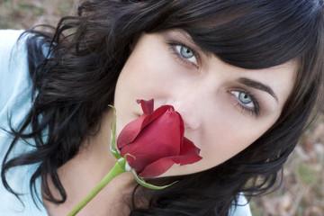rose woman