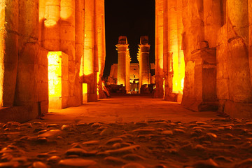 temple at luxor - egypt