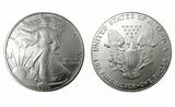 american silver dollar poster