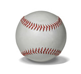 new baseball with path poster