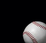 close-up of baseball poster