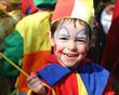 Leinwanddruck Bild - clown du carnaval - 2005
