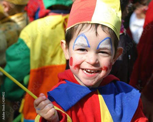 Leinwanddruck Bild clown du carnaval - 2005