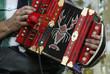 Leinwanddruck Bild - accordian