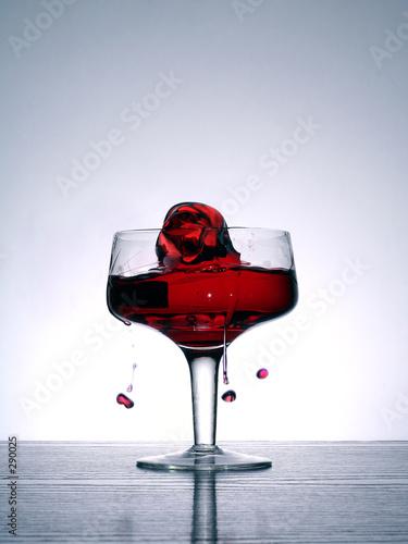 liquid rose t-shirt