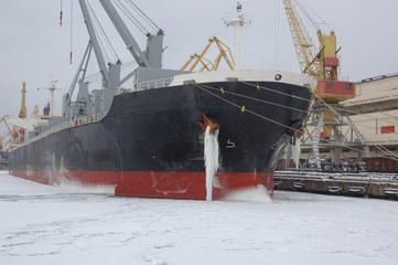freezing port