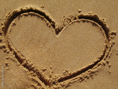 coeur sable de severine pillet photo libre de droits 292693 sur. Black Bedroom Furniture Sets. Home Design Ideas
