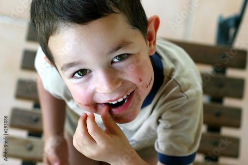 sourire au chocolat