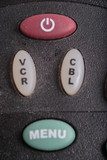 remote control buttons poster
