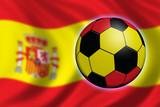 soccer in spain poster
