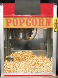 popcorn machine poster