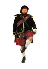 scottish scotch warrior dancing