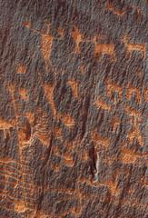 men and sheep petroglyphs
