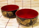 japanese bowls poster