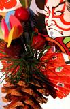 japanese winter decoration poster
