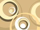 Fototapety retro circles