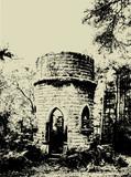 grunge ruins poster