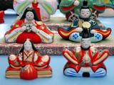 japanese ceramic statuettes poster