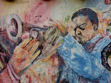 e trompete de jazz
